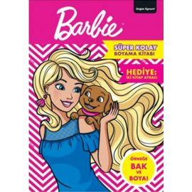 Barbie - Süper Kolay Boyama Kitabı