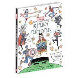Marvel - Süper Kahramanın Çizim Kitabı