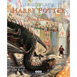 Harry Potter ve Ateş Kadehi  - 4 (Resimli Özel Baskı) (Ciltli)