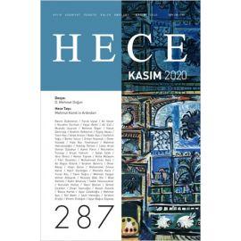 Hece Aylık Edebiyat Dergisi Sayı: 287