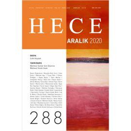 Hece Aylık Edebiyat Dergisi Sayı: 288