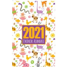 2021 Akademik Ajanda - Sevimli Hayvanlar
