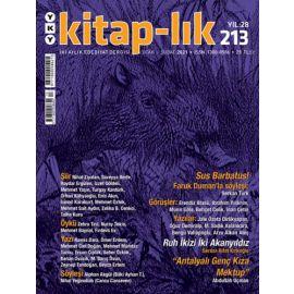 Kitap-lık Dergisi Sayı: 213