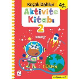 Aktivite Kitabı 2 - Küçük Dahiler 4+Yaş
