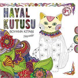 Hayal Kutusu Boyama Kitabı - Hayvanlar