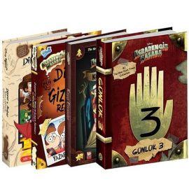 Disney Esrarengiz Kasaba Mega Seti - 4 Kitap Takım