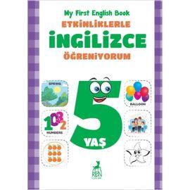 Etkinliklerle İngilizce Öğreniyorum - 5 Yaş