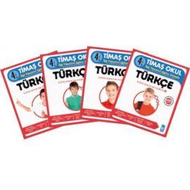 4. Sınıf Türkçe Konu Anlatımı - 4 Kitap Fasikül