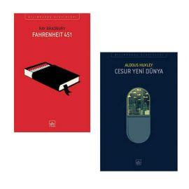 Fahrenheit 451 - Cesur Yeni Dünya (2 Kitap Takım)