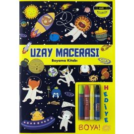 Minik Ressamlar - Uzay Macerası Boyama Kitabı
