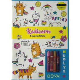 Minik Ressamlar - Kedicorn Boyama Kitabı