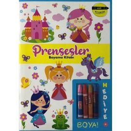 Minik Ressamlar - Prensesler Boyama Kitabı