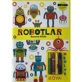 Minik Ressamlar - Robotlar Boyama Kitabı