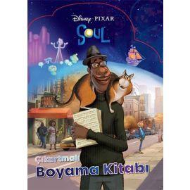 Disney Pixar Soul Çıkartmalı Boyama Kitabı