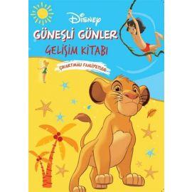 Disney Güneşli Günler Gelişim Kitabı Çıkartmalı Faaliyetler