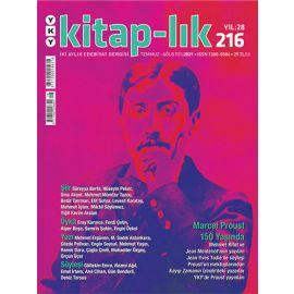 Kitap-lık Dergisi Sayı 216 Temmuz-Ağustos 2021