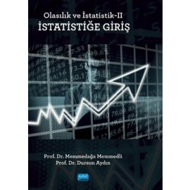 Olasılık ve İstatistik 2 -  İstatistiğe Giriş
