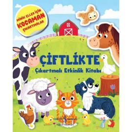 Çiftlikte Çıkartmalı Etkinlik Kitabı