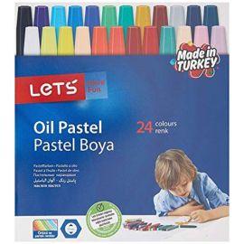 Lets 24 Renk Pastel Boya