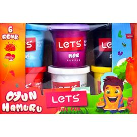 Lets 6 Renk Oyun Hamuru