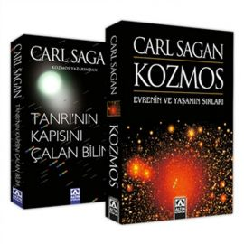Carl Sagan Seti - 2 Kitap Takım