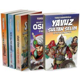 Yavuz Bahadıroğlu Genç Tarih Seti - 5 Kitap Takım