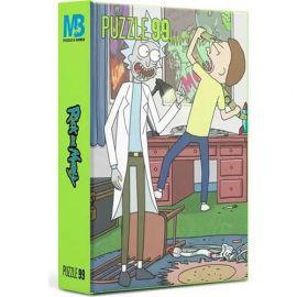 99 Parça Rick and Morty Puzzle