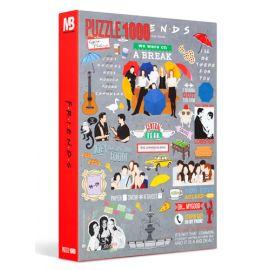 Friends 1000 Parça Puzzle