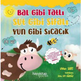 Bal Gibi Tatlı Süt Gibi Şifalı Yün Gibi Sıcacık Seti - 3 Kitap Takım