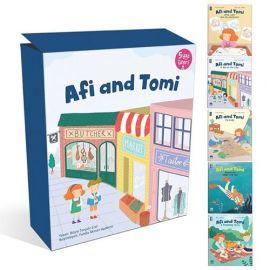 Afi and Tomi - 5 Kitap Takım