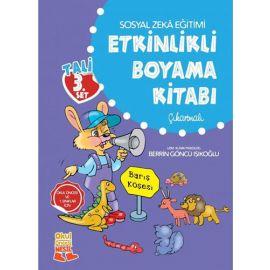 Tali 3. Set - Sosyal Zeka Eğitimi Etkinlikli Boyama Kitabı