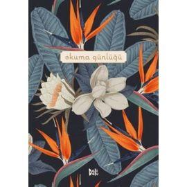 Okuma Günlüğü - Çiçekli (Ciltli)