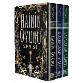 Hainin Oyunu Serisi Kutulu Set - 3 Kitap Takım (Ciltli)