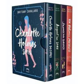 Charlotte Holmes Serisi Kutulu Set - 4 Kitap Takım (Ciltli)