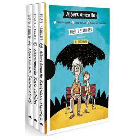 Albert Amca İle: Zaman ve Uzay - Kara Delikler - Kuantum Macerası Seti - 3 Kitap Takım