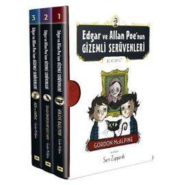 Edgar ve Allan Poe'nun Gizemli Serüvenleri Seti-3 Kitap Takım-Özel Kutulu