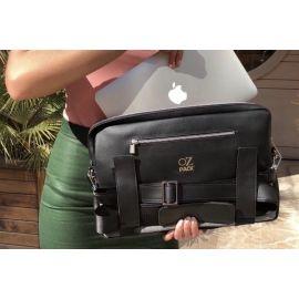 Ozpack Traveler Siyah Orta Laptop Çantası