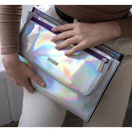 Ozpack Business Mor Hologram Orta Laptop Çantası