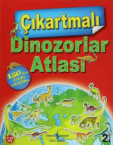 Çıkartmalı Dinozorlar Atlası-0