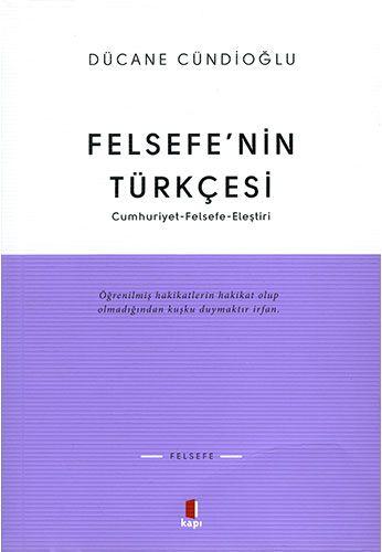 Felsefe'nin Türkçesi-0