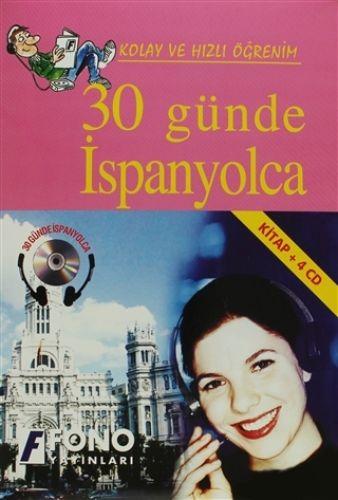 30 Günde İspanyolca (kitap + 4 CD)-0