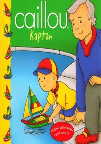 Caillou Hikaye Kitabı - Kaptan-0