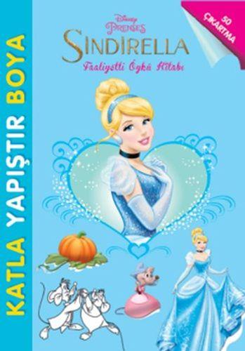 Disney Sindirella Faaliyetli Öykü Kitabı-0