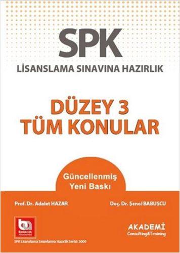 SPK Yeni Adıyla SPF Lisanslama Sınavına Hazırlık - Düzey 3 Tüm Konular-0