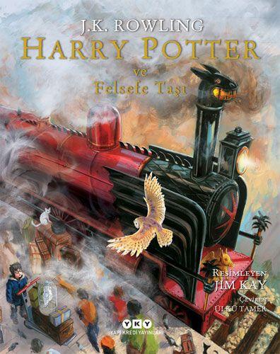 Harry Potter ve Felsefe Taşı 1 - Resimli Özel Baskı (Ciltli)-0