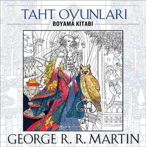 Taht Oyunları Boyama Kitabı-0