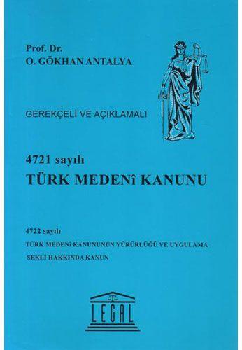 4721 Sayılı Türk Medeni Kanunu (Ciltli)-0