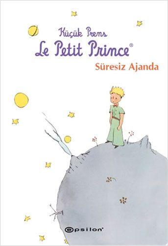 Küçük Prens - Süresiz Ajanda (Ciltli)-0