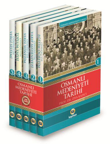 Osmanlı Medeniyeti Tarihi Seti (5 Kitap Takım)-0