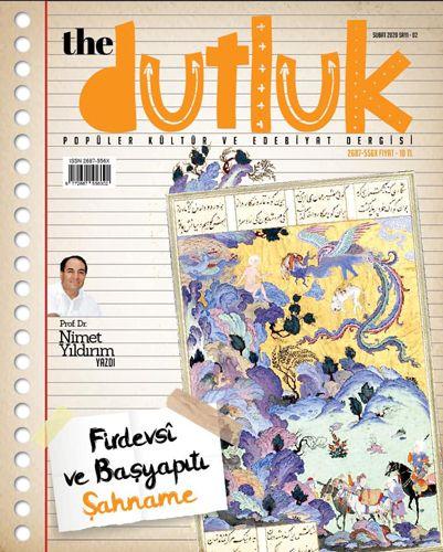 Dutluk Sayı:2 - Popüler Kültür ve Edebiyat Dergisi-0